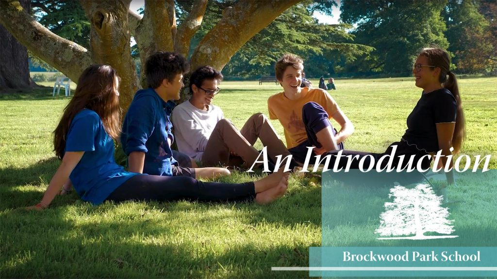 Video Overlay – An introduction to Brockwood Park School