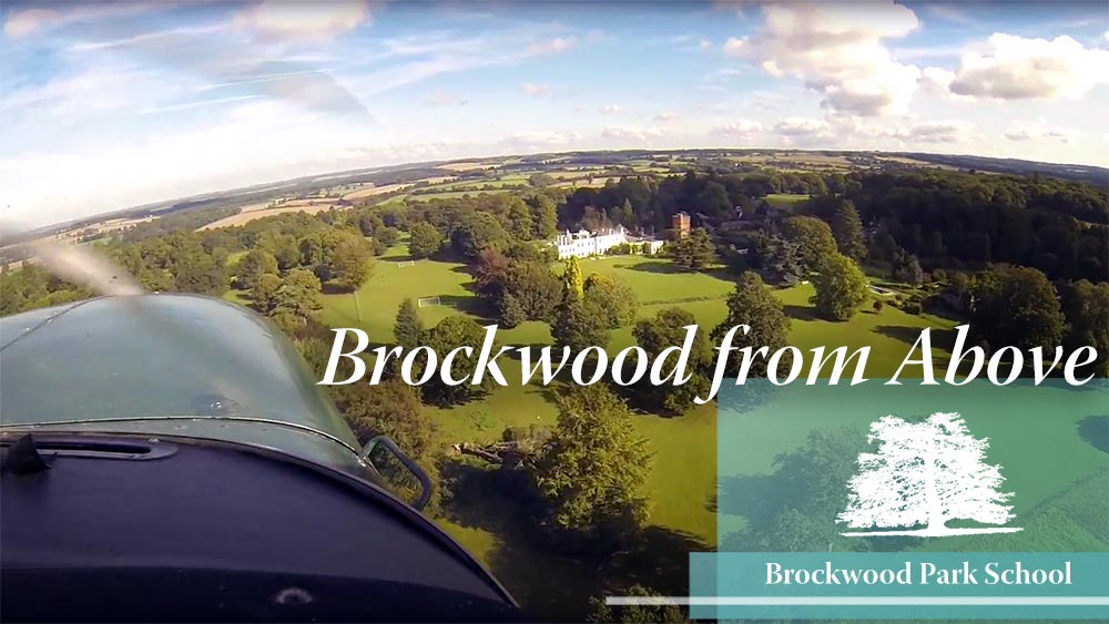 Video Overlay – Brockwood from above