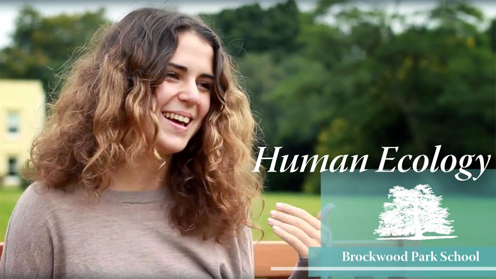 Video Overlay – Human ecology at Brockwood Park School