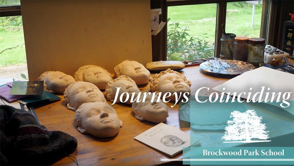 Video Overlay – Journeys coinciding at Brockwood Park School