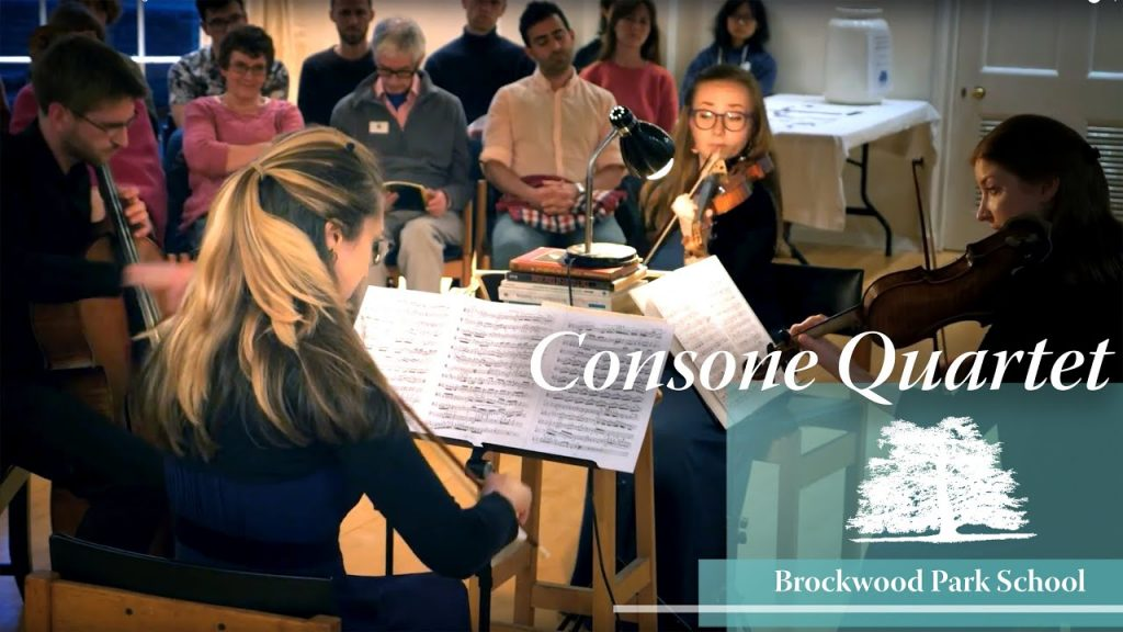 Video Overlay – Consone Quartet