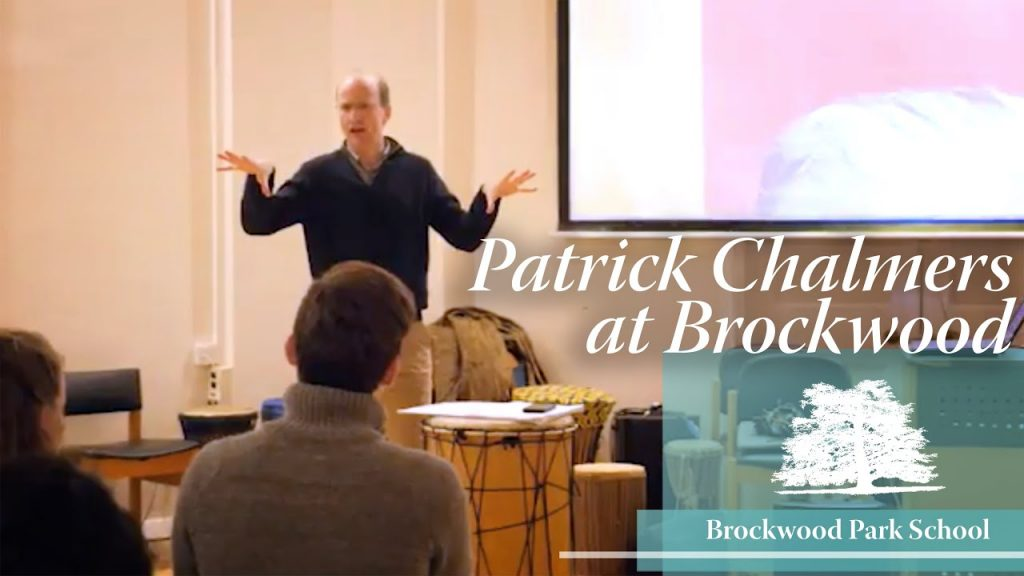 Video Overlay – Patrick Chalmers at Brockwood Park School