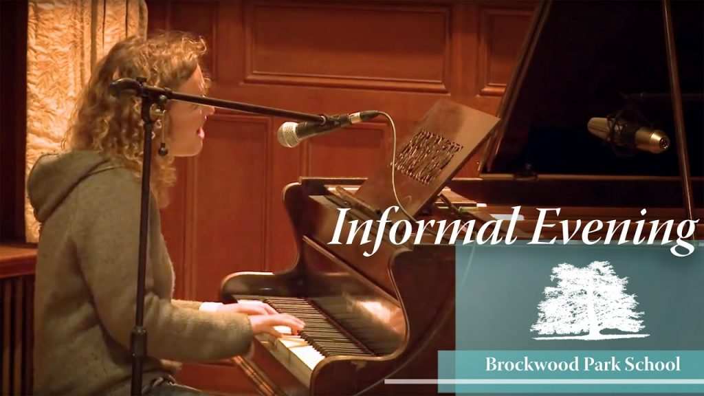 Video Overlay – Informal evening at Brockwood Park School
