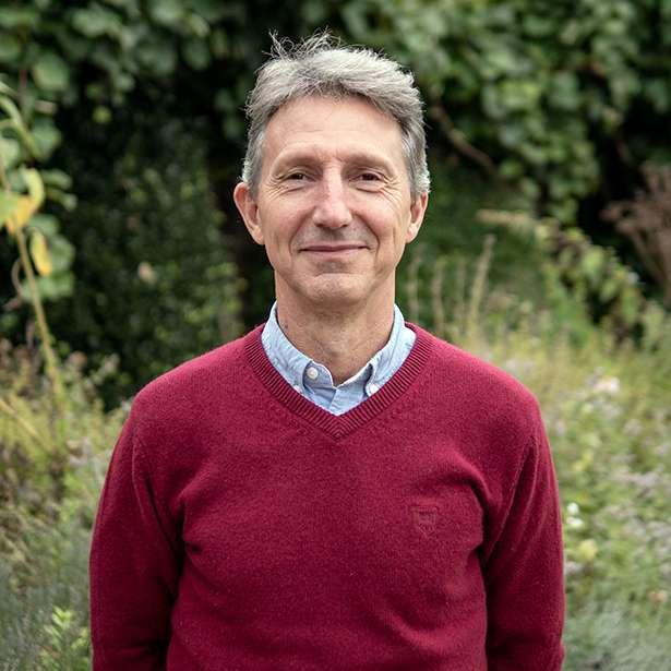 Portrait of Antonio Autor Brockwood Park School's principal