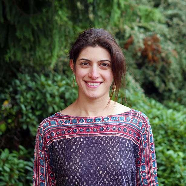Portrait photo of Mina Masoumian bursar of Brockwood Park School