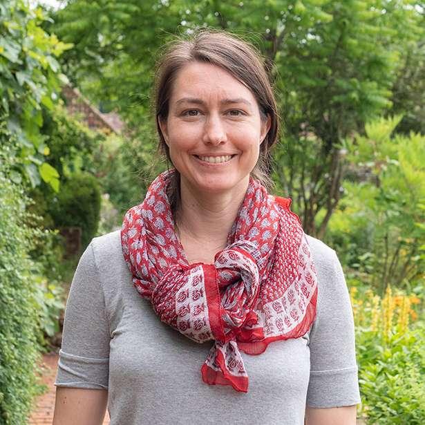 Portrait photo of Kate Power, SenCo and Residential Humanities teacher at Brockwood Park School