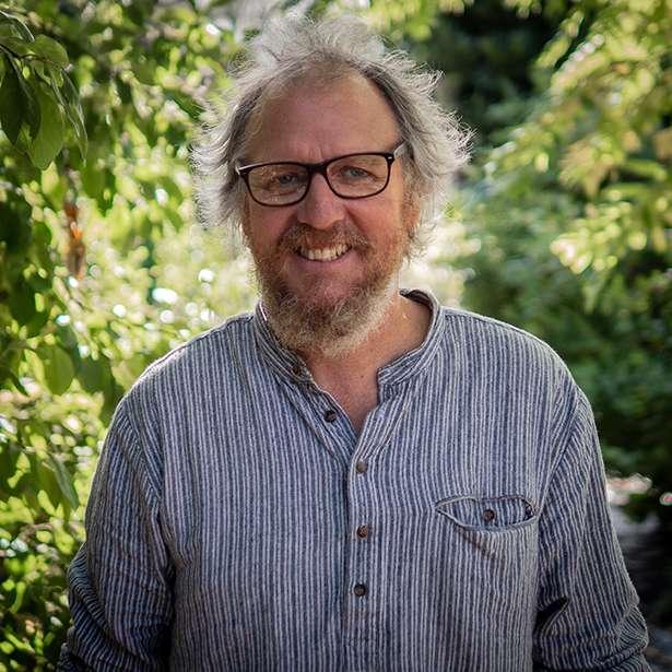 Portrait photo of Andrew Turner, Woodwork Teacher at Brockwood Park School