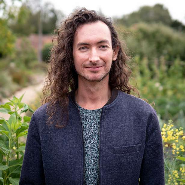 Portrait photo of Thomas Fournil, Music Teacher at Brockwood Park School