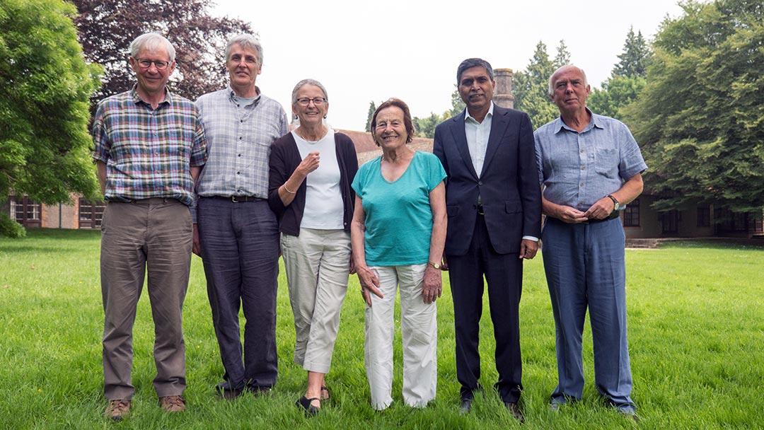Group photo of Brockwood Park School's trustees