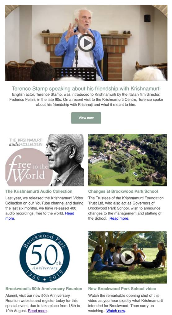 Brockwood Park News – Summer 2018