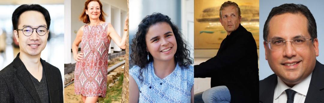 Portraits of Brockwood Park School alumni