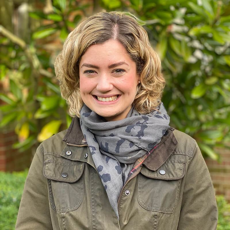 Portrait photo of Charlotte Pomroy, School Secretary at Brockwood Park School