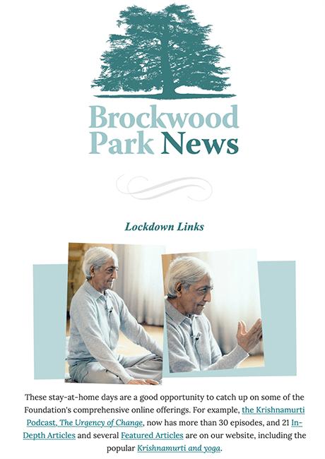Brockwood Park News – Summer 2019