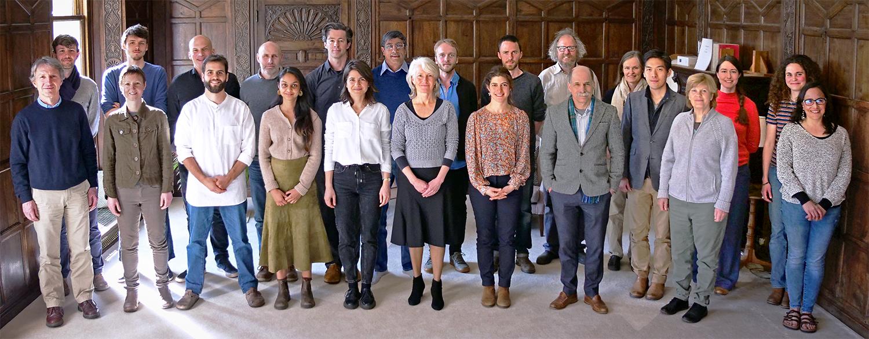 Group photo of Brockwood Park School's staff members