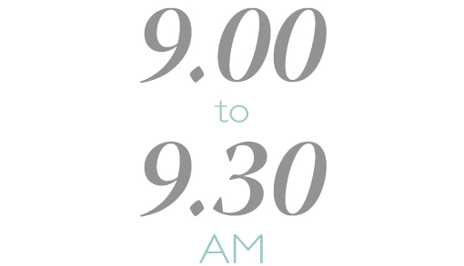 8.35 to 9.10 AM