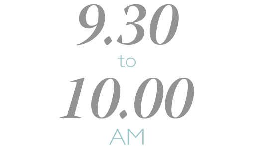 9.10 to 9.40 AM