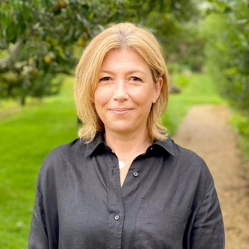 Portrait photo of Claire Hardwick, Administrative Assistant at Brockwood Park School