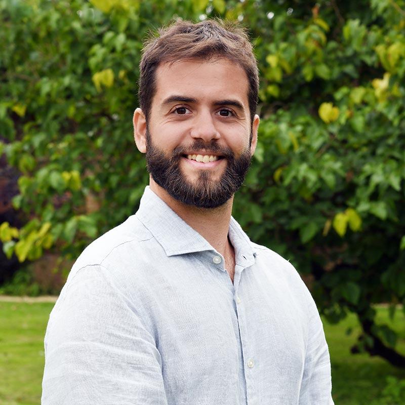 Portrait photo of Javier Jurado, Sports Coordinator at Brockwood Park School